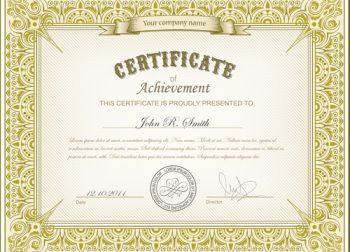 John's Certificate